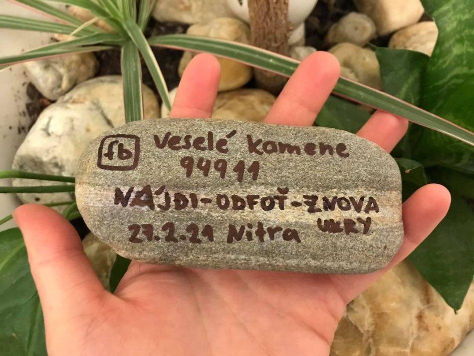 V OBRAZOCH: Veselé kamene v Nitre